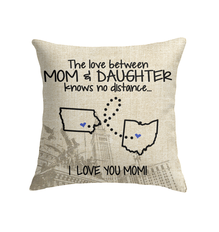 OHIO IOWA THE LOVE MOM AND DAUGHTER KNOWS NO DISTANCE