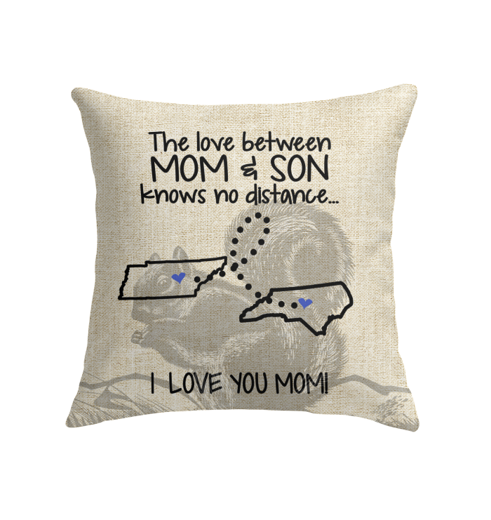 NORTH CAROLINA TENNESSEE THE LOVE MOM AND SON KNOWS NO DISTANCE
