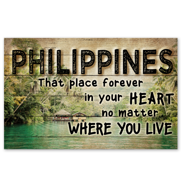 Philippines That Place Forever In Your Heart Posters