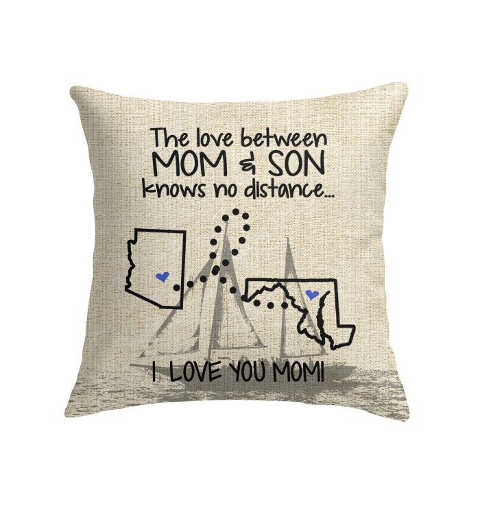 MARYLAND ARIZONA THE LOVE MOM AND SON KNOWS NO DISTANCE