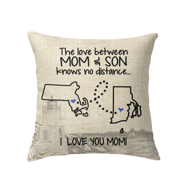 RHODE ISLAND MASSACHUSETTS THE LOVE MOM AND SON KNOWS NO DISTANCE