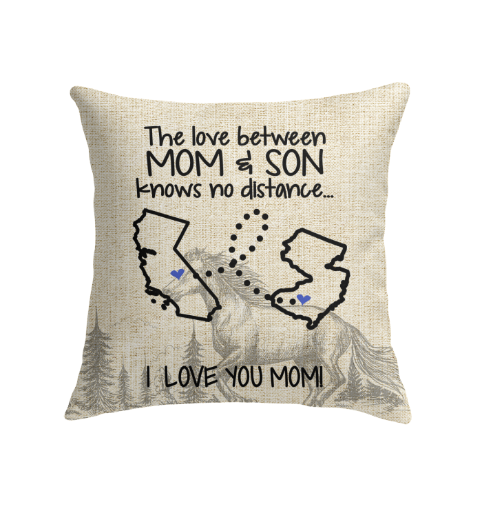 NEW JERSEY CALIFORNIA THE LOVE BETWEEN MOM AND SON