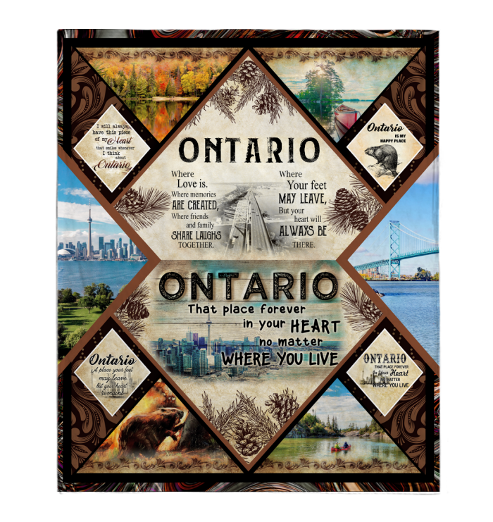 Ontario Sayings Blanket