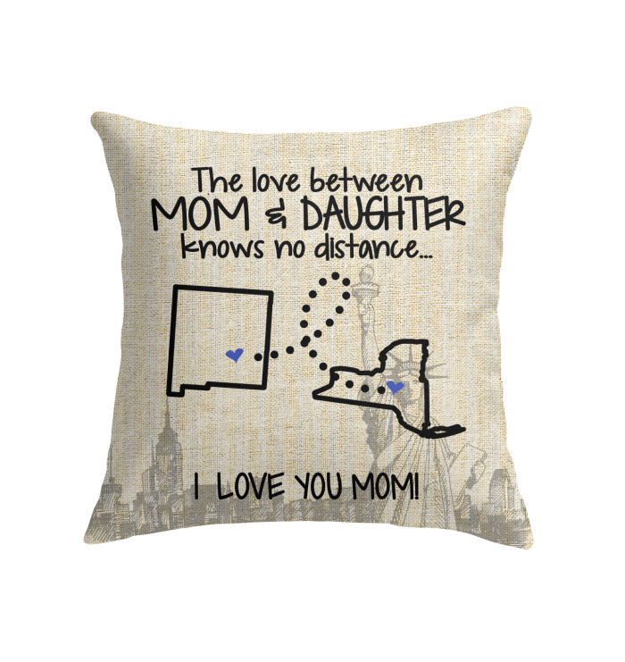 NEW YORK NEW MEXICO THE LOVE MOM AND DAUGHTER KNOWS NO DISTANCE