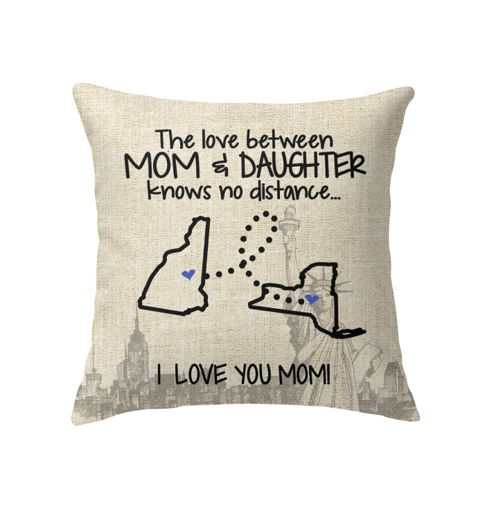 NEW YORK NEW HAMPSHIRE THE LOVE MOM AND DAUGHTER KNOWS NO DISTANCE