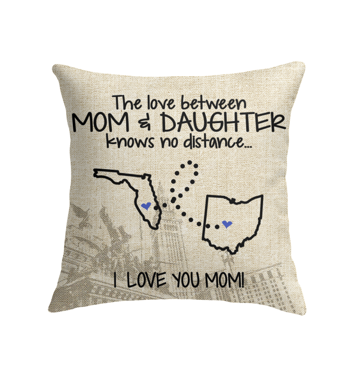 OHIO FLORIDA THE LOVE MOM AND DAUGHTER KNOWS NO DISTANCE.