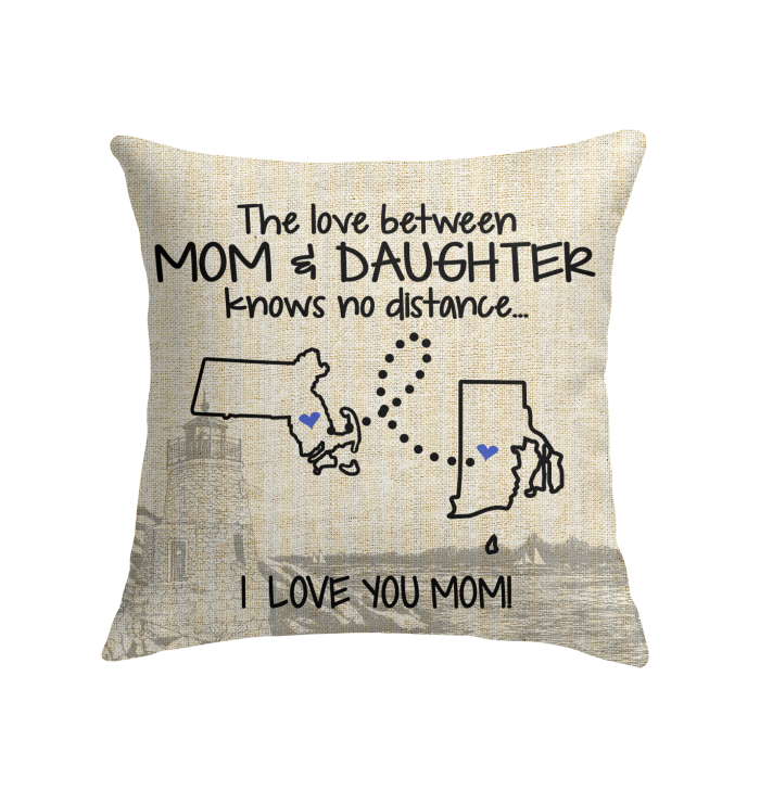 RHODE ISLAND MASSACHUSETTS THE LOVE MOM AND DAUGHTER KNOWS NO DISTANCE