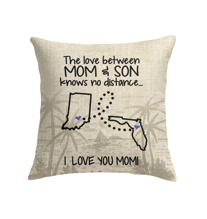 FLORIDA INDIANA THE LOVE MOM AND SON KNOWS NO DISTANCE