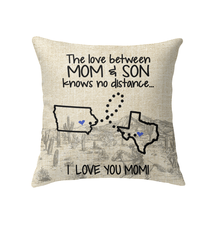 TEXAS IOWA THE LOVE BETWEEN MOM AND SON