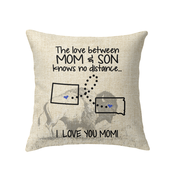 SOUTH DAKOTA COLORADO THE LOVE MOM AND SON KNOWS NO DISTANCE