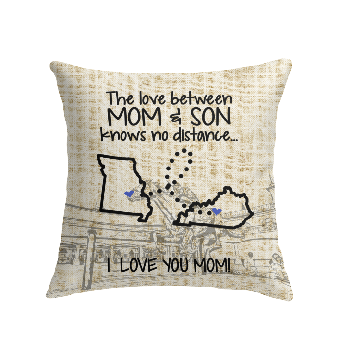 KENTUCKY MISSOURI THE LOVE MOM AND SON KNOWS NO DISTANCE