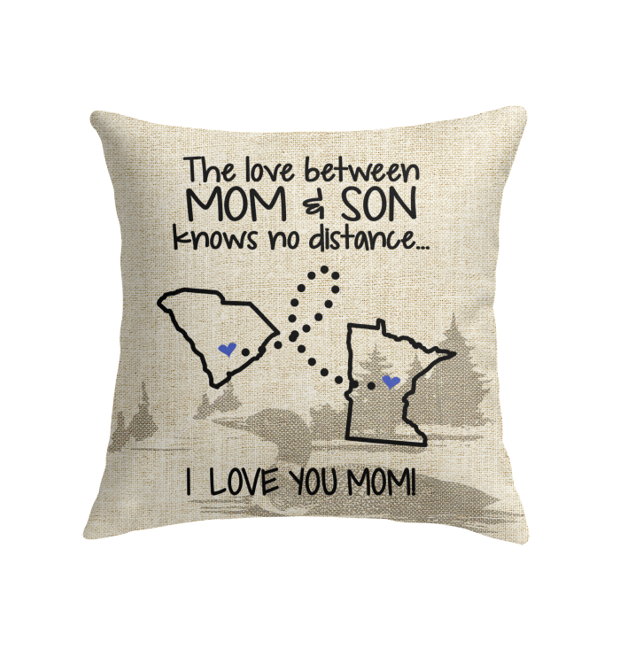 MINNESOTA SOUTH CAROLINA THE LOVE BETWEEN MOM AND SON