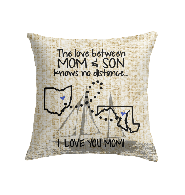 MARYLAND OHIO MARYLAND OHIO THE LOVE MOM AND SON KNOWS NO DISTANCE