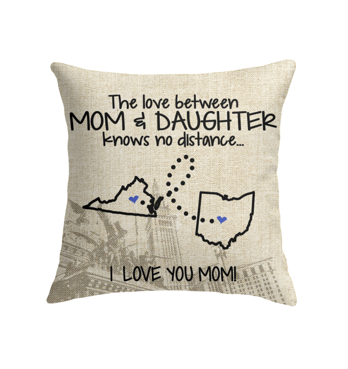 OHIO VIRGINIA THE LOVE MOM AND DAUGHTER KNOWS NO DISTANCE