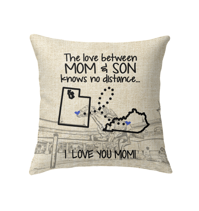 KENTUCKY UTAH THE LOVE MOM AND SON KNOWS NO DISTANCE