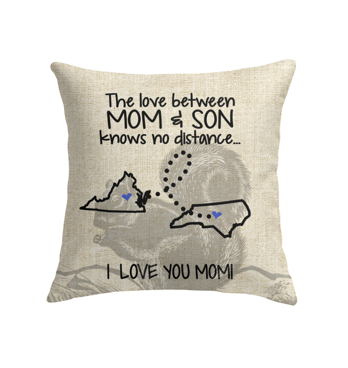 NORTH CAROLINA VIRGINIA THE LOVE MOM AND SON KNOWS NO DISTANCE