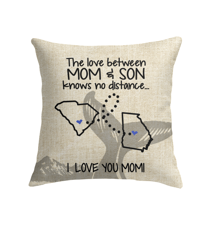 GEORGIA SOUTH CAROLINA THE LOVE MOM AND SON KNOWS NO DISTANCE