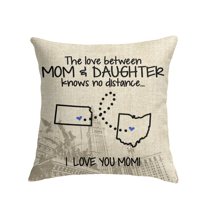OHIO KANSAS THE LOVE MOM AND DAUGHTER KNOWS NO DISTANCE