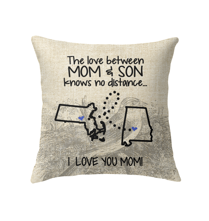 ALABAMA MASSACHUSETTS THE LOVE MOM AND SON KNOWS NO DISTANCE