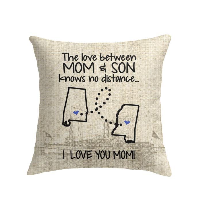 MISSISSIPPI ALABAMA THE LOVE MOM AND SON KNOWS NO DISTANCE