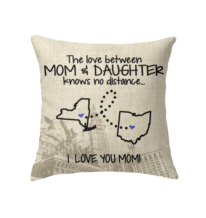 OHIO NEW YORK THE LOVE MOM AND DAUGHTER KNOWS NO DISTANCE