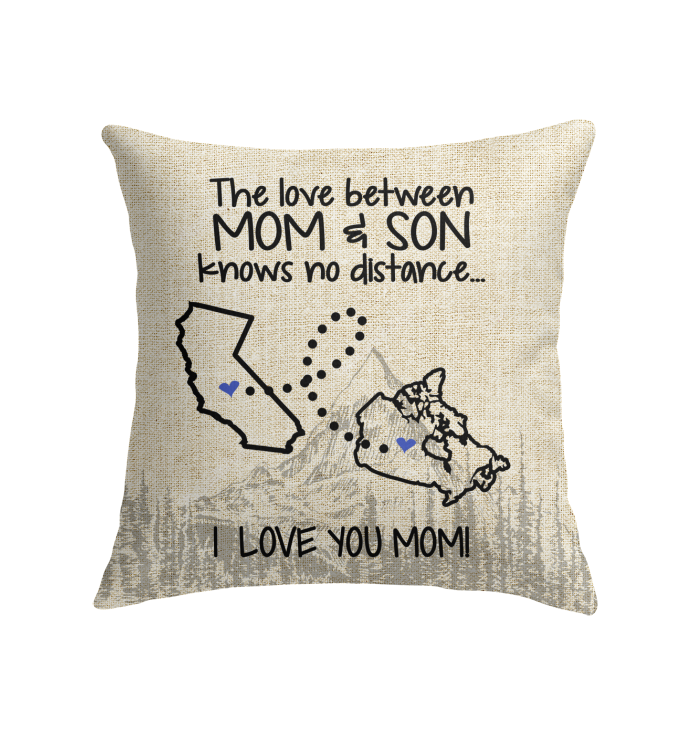 CANADA CALIFORNIA THE LOVE BETWEEN MOM AND SON