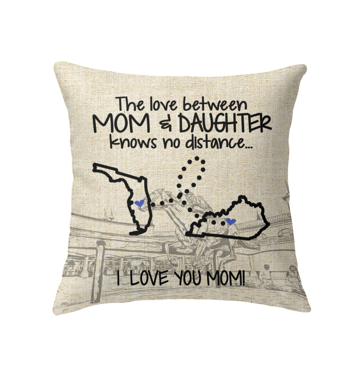 KENTUCKY FLORIDA THE LOVE MOM AND DAUGHTER KNOWS NO DISTANCE