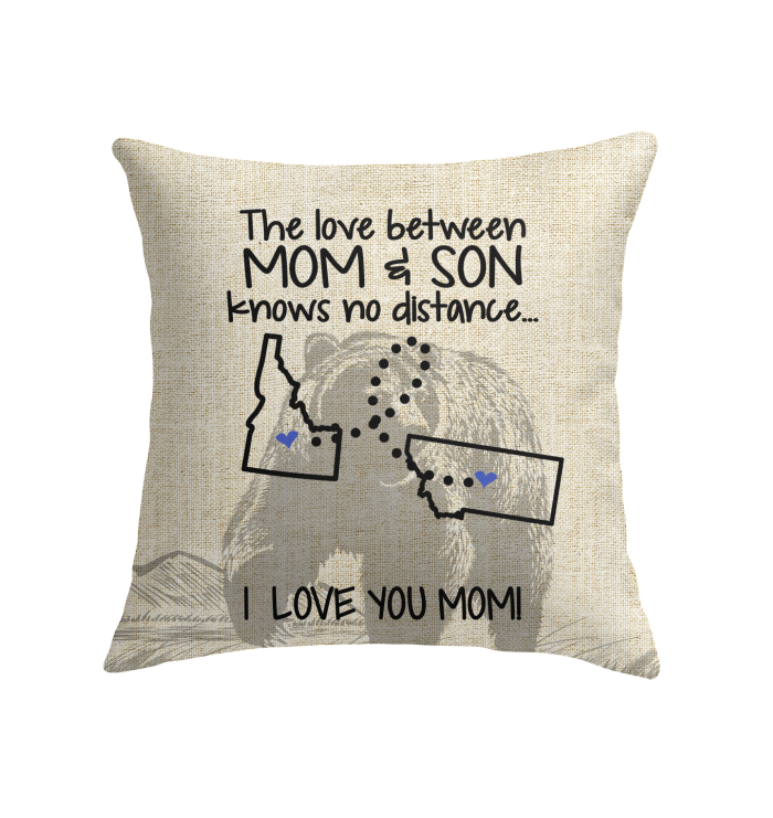 MONTANA IDAHO THE LOVE MOM AND SON KNOWS NO DISTANCE