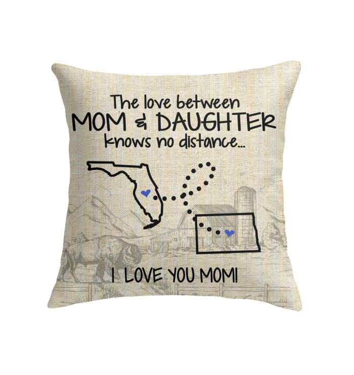 NORTH DAKOTA FLORIDA THE LOVE MOM AND DAUGHTER KNOWS NO DISTANCE