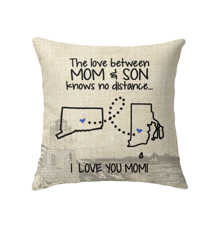 RHODE ISLAND CONNECTICUT THE LOVE MOM AND SON KNOWS NO DISTANCE