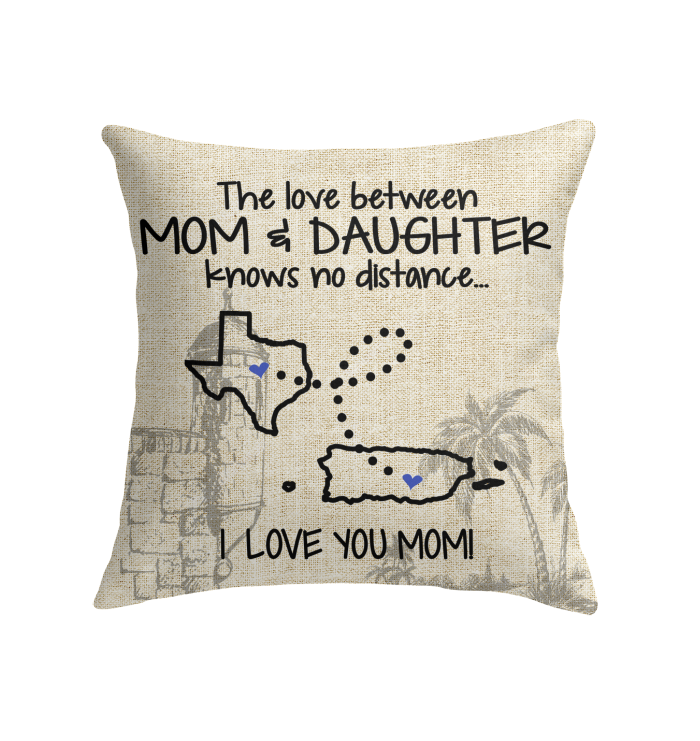PUERTO RICO TEXAS THE LOVE BETWEEN MOM AND DAUGHTER