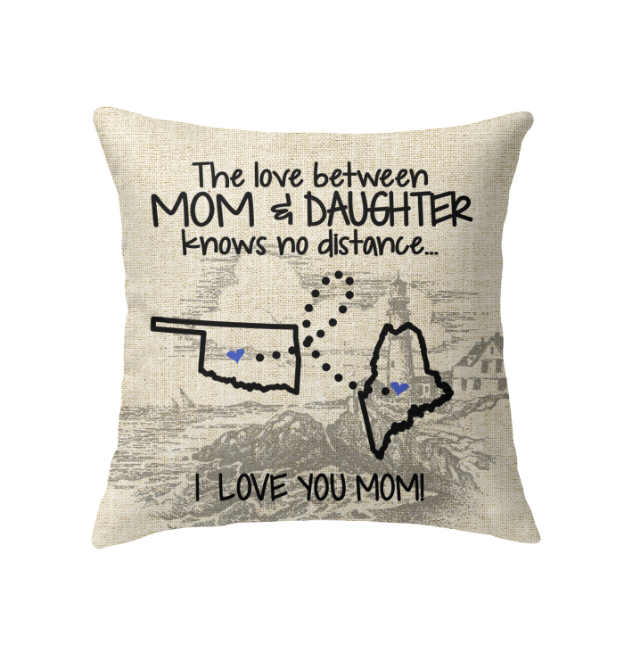 MAINE OKLAHOMA THE LOVE BETWEEN MOM AND DAUGHTER