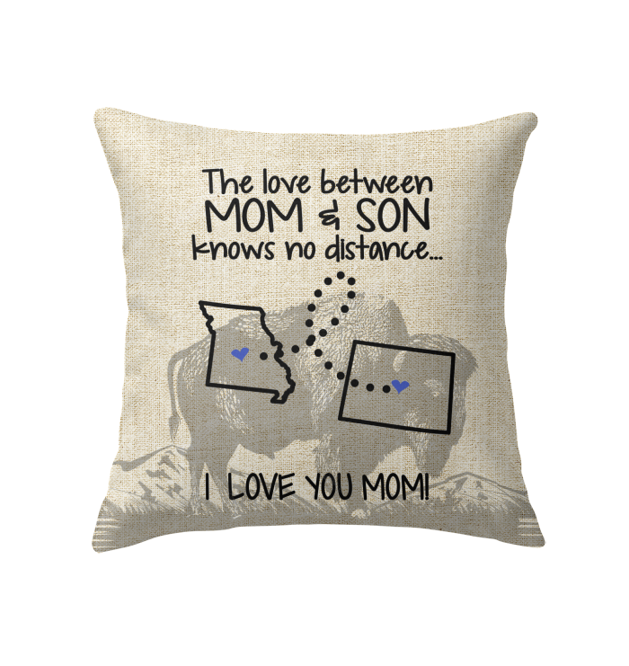 WYOMING MISSOURI THE LOVE MOM AND SON KNOWS NO DISTANCE