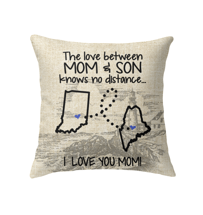 MAINE INDIANA THE LOVE BETWEEN MOM AND SON