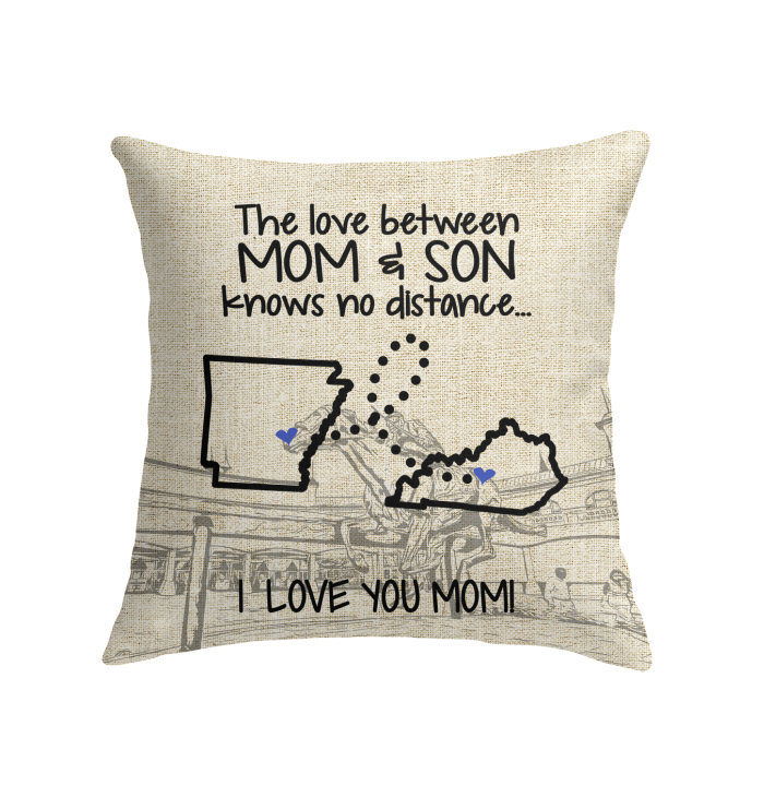 KENTUCKY ARKANSAS THE LOVE MOM AND SON KNOWS NO DISTANCE