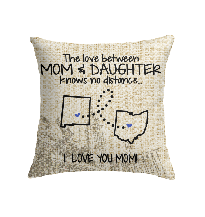 OHIO NEW MEXICO THE LOVE MOM AND DAUGHTER KNOWS NO DISTANCE