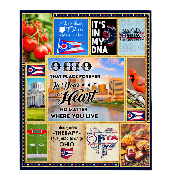 OHIO THAT PLACE FOREVER IN YOUR HEART NO MATTER WHERE YOU LIVE