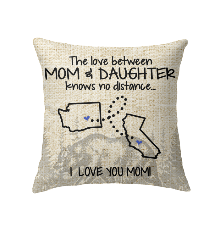 CALIFORNIA WASHINGTON THE LOVE BETWEEN MOM AND DAUGHTER