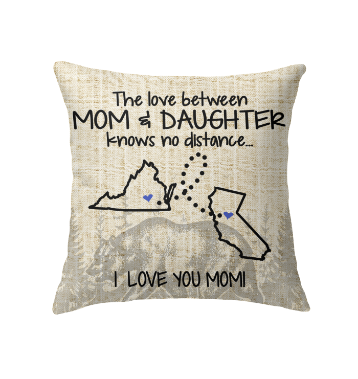 CALIFORNIA VIRGINIA THE LOVE BETWEEN MOM AND DAUGHTER