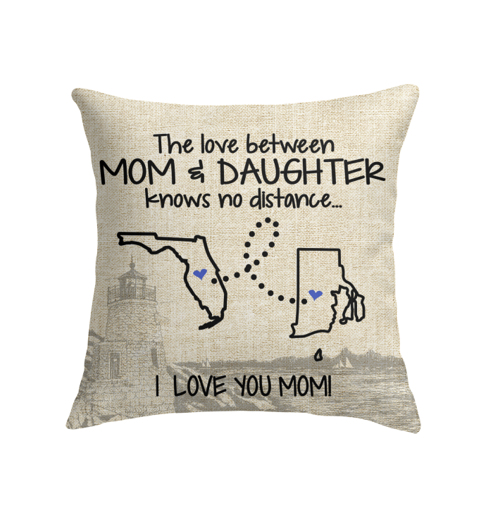 RHODE ISLAND FLORIDA THE LOVE MOM AND DAUGHTER KNOWS NO DISTANCE
