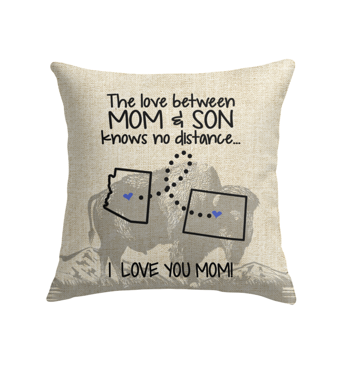 WYOMING ARIZONA THE LOVE MOM AND SON KNOWS NO DISTANCE
