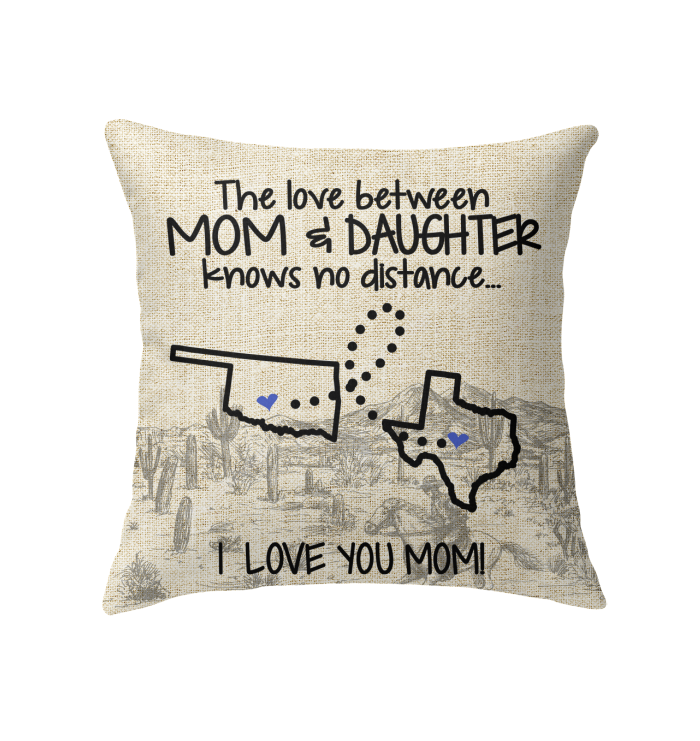 TEXAS OKLAHOMA THE LOVE BETWEEN MOM AND DAUGHTER