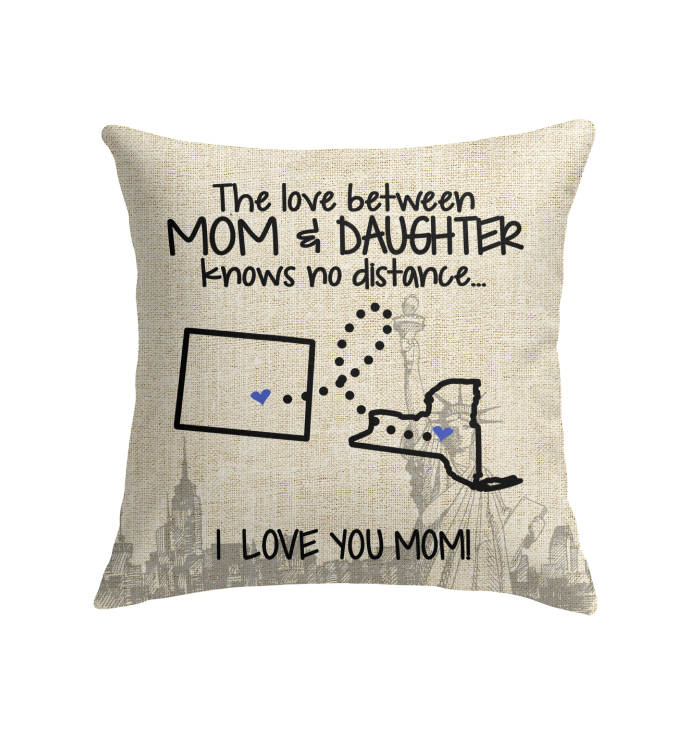 NEW YORK COLORADO THE LOVE MOM AND DAUGHTER KNOWS NO DISTANCE