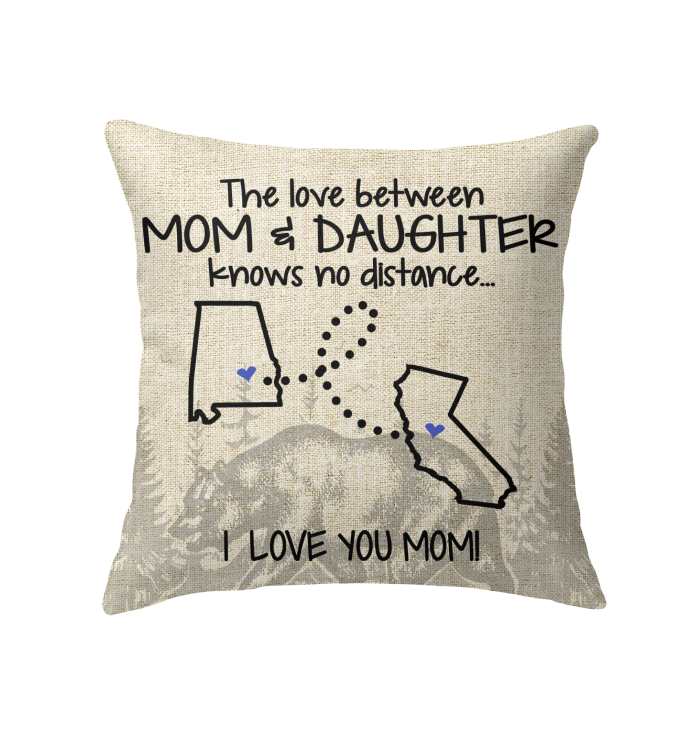 CALIFORNIA ALABAMA THE LOVE BETWEEN MOM AND DAUGHTER