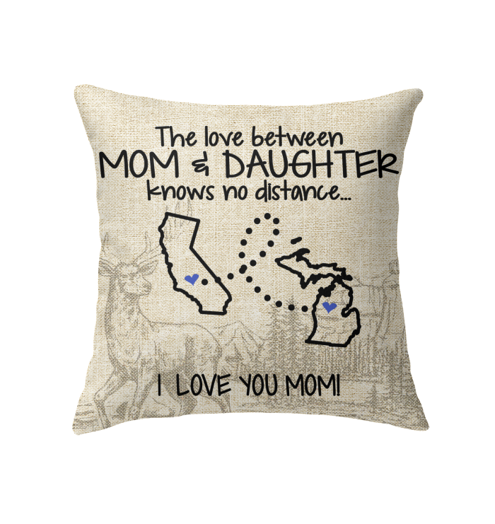 MICHIGAN CALIFORNIA THE LOVE BETWEEN MOM AND DAUGHTER