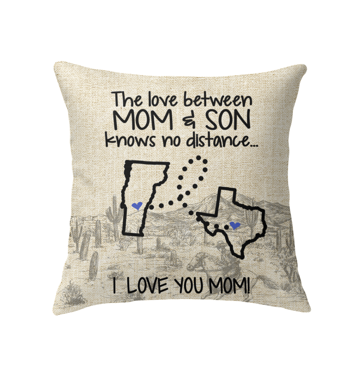 TEXAS VERMONT THE LOVE BETWEEN MOM AND SON