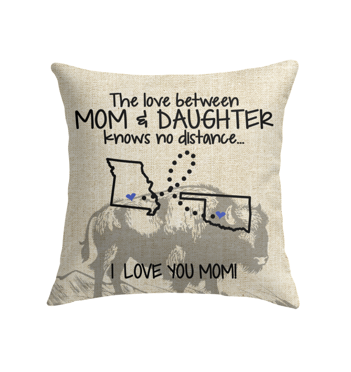 OKLAHOMA MISSOURI THE LOVE MOM AND DAUGHTER KNOWS NO DISTANCE
