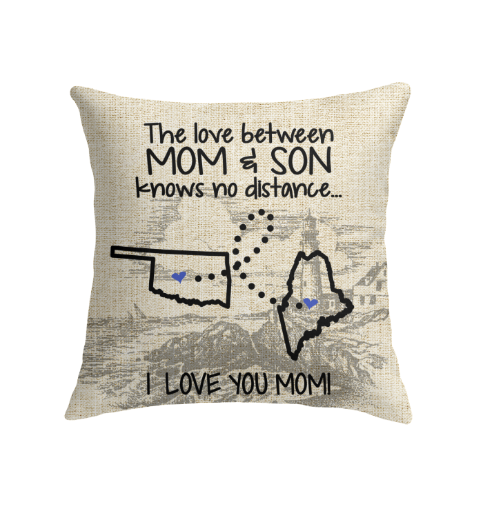 MAINE OKLAHOMA THE LOVE BETWEEN MOM AND SON