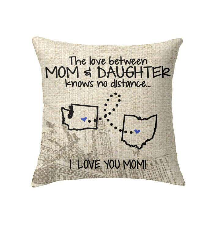 OHIO WASHINGTON THE LOVE MOM AND DAUGHTER KNOWS NO DISTANCE