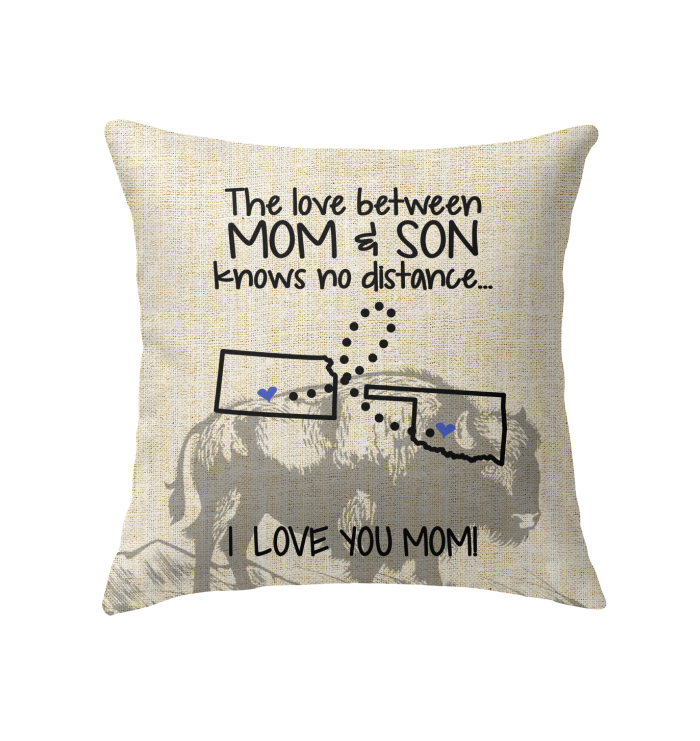 OKLAHOMA KANSAS THE LOVE MOM AND SON KNOWS NO DISTANCE